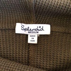 Splendid Sweaters - Splendid Cowl Neck Maternity Pull Over